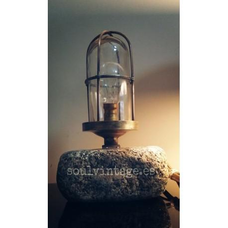 Lámpara de sobremesa aplique naval