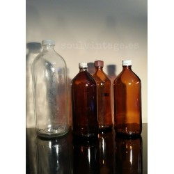 Conjunto decorativo botellas de farmacia