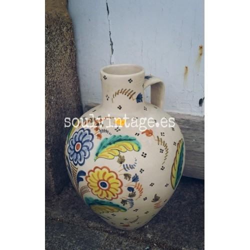 """Tinaja cerámica de Talavera  """"Chacón"""" años 70' -80'"""