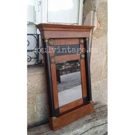 Espejo de madera  circa 1920