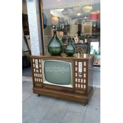 Radio televisor Ínter años 60'
