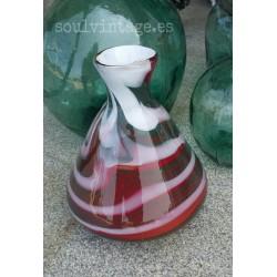 Jarrón cristal de Murano años 70'