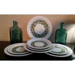 Conjunto de platos Pontesa años 60'