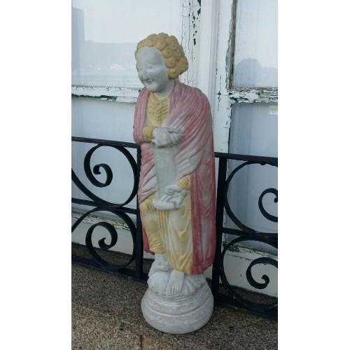 Escultura de Daniel, Pórtico de la Gloria
