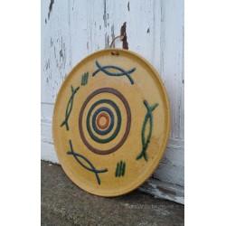 Plato cerámica años 70'