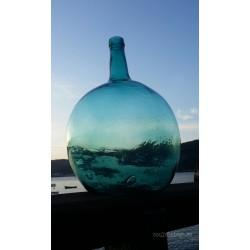 Damajuana de vidrio soplado