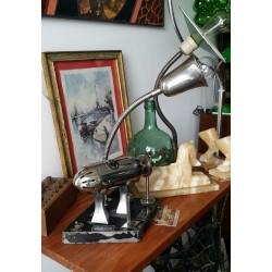 Lámpara de sobremesa industrial circa 1950