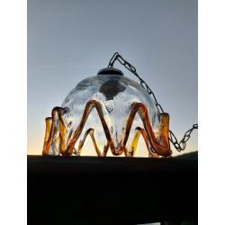 Lámpara de techo Murano años 60'