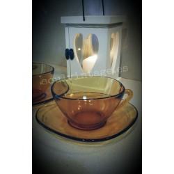 Conjunto de 2 tazas  de desayuno Vereco- France