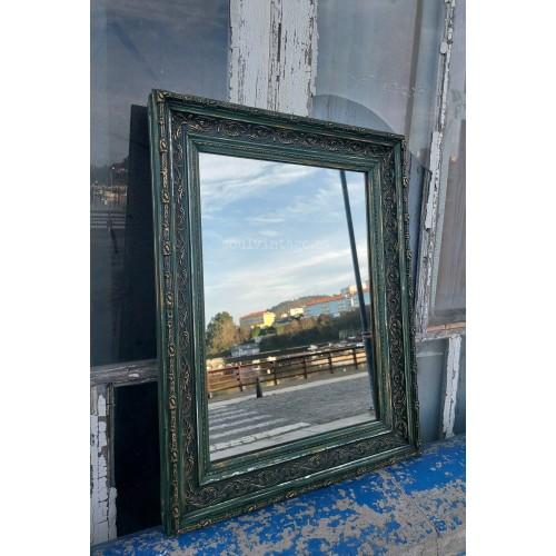 Espejo de madera. Circa 1930