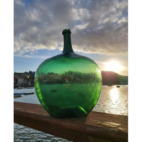 Damajuana de vidrio soplado 16l