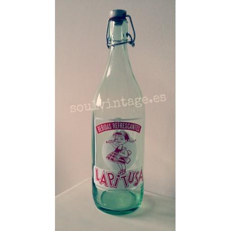 botella de gaseosa La Pitusa