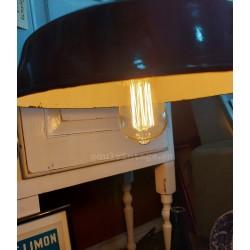 Lámpara de techo industrial. Circa 1940