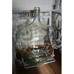 Damajuana vidrio transparente  20l