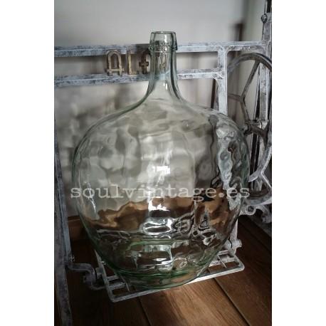 Damajuana vidrio blanco 20l