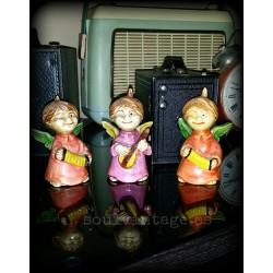 Figuras  cerámica policromada